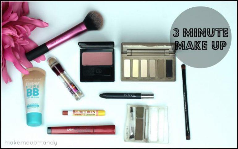 3 minute make up