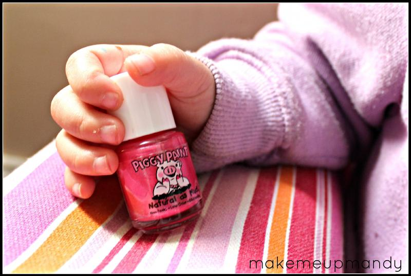 Piggy Paint Review | All Natural, Non-Toxic Nail Polish For Kids -