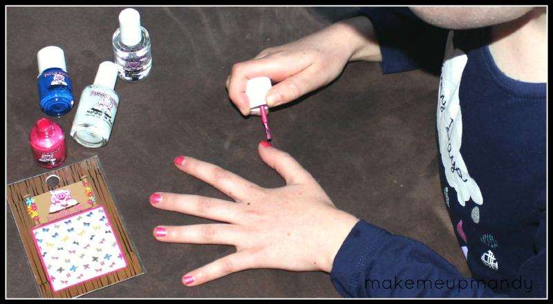 Piggy Paint Brand Spank\'n Blue, Free Shipping at Nail Polish Canada