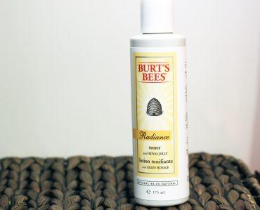 burts bees radiance toner