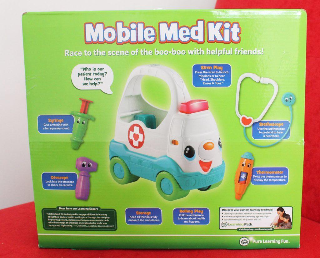 leapfrog mobile med kit for kids