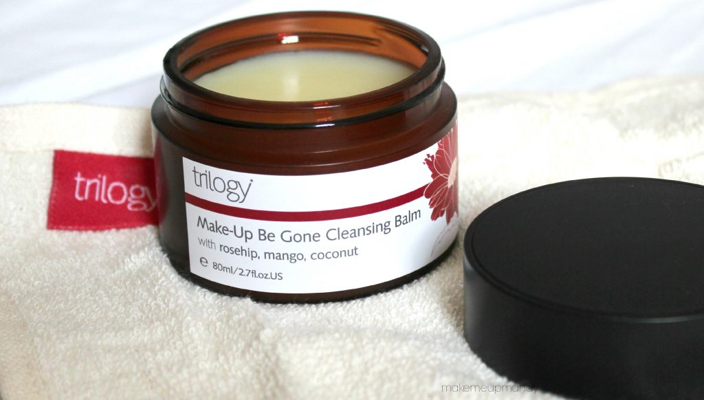 trilogy make up be gone cleansing balm