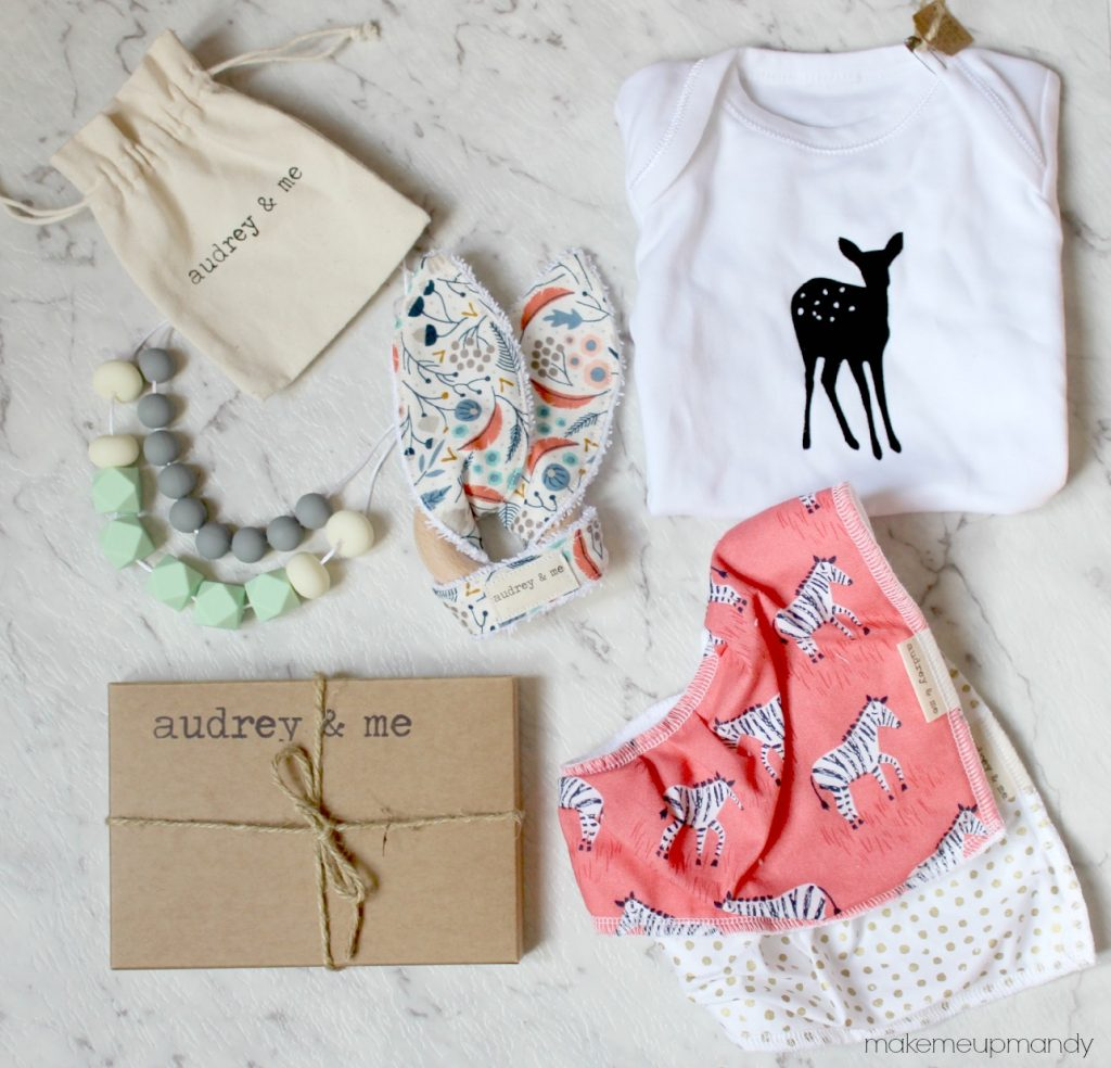 audrey and me baby gift box