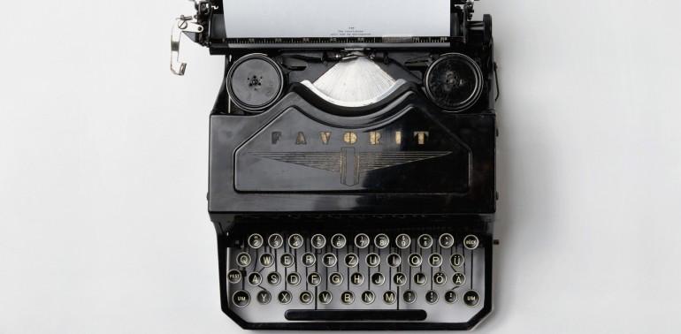 goal setting type writer