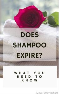 does shampoo expire