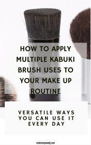 kabuki brush uses