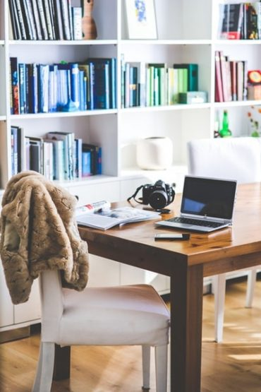 working space at home