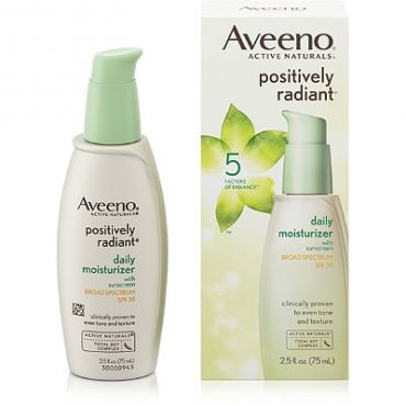 review of aveeno positively radiant tinted moisturizer
