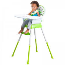 age of babies high chair