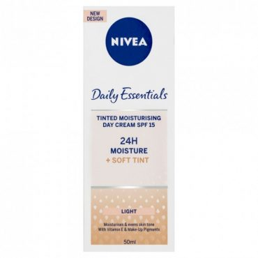 daily essentials visage nivea