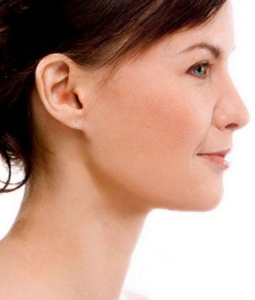 woman nice clear skin
